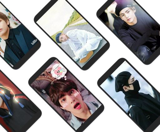 BTS V Kim Taehyung Wallpaper Offline - Best Photos 2.0.1 screenshots 1