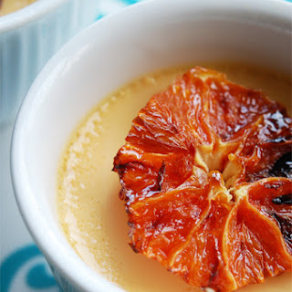 Cardamom Custard with Caramelized Oranges.
