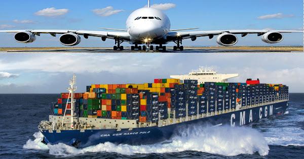 Доставка грузов из Индии мореми авиа