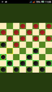 Checkers (Draughts) Online Free - náhled