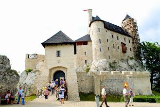 Photo: Oficjalne otwarcie zamku po dwunastu latach prac nastąpiło 3 września 2011