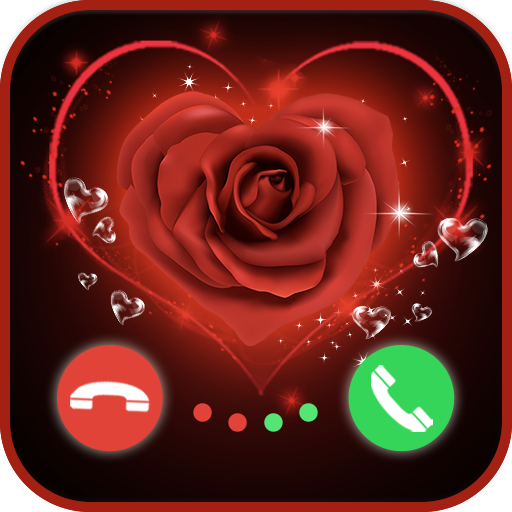 Lovely Call Color Flash Screen