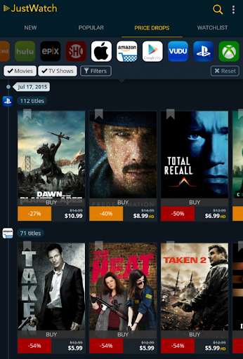 JustWatch - Search Engine for Streaming and Cinema 0.22.3 screenshots 12