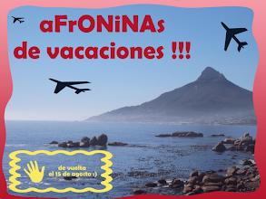 Photo: ¡aFrONiNAs de vacaciones! - Verano 2012
