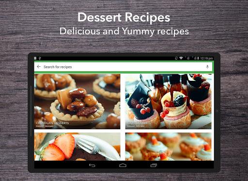 Dessert Recipes 38.0.0 screenshots 11