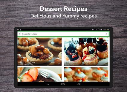 App Dessert Recipes APK for Windows Phone