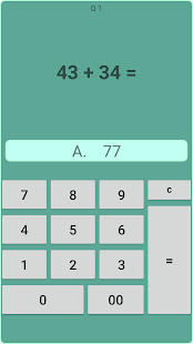 Mental arithmetic 77 free - náhled