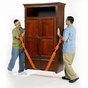 Set 2 curele pentru mutat mobilierul