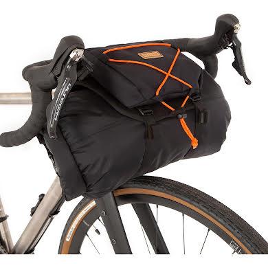 Restrap Handlebar Holister w/17L Bag and Pouch, Black