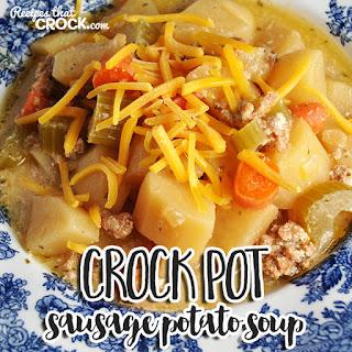 Crock Pot Sausage Potato Soup.