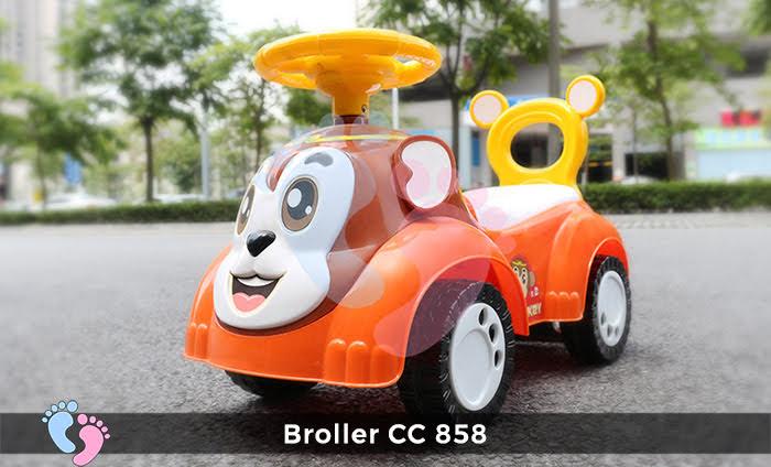 Xe chòi chân Broller CC-858 4