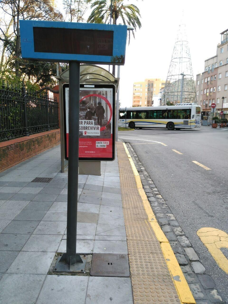 Podemos lamenta el abandono creciente del equipo de gobierno del PP al servicio de autobús urbano en Algeciras