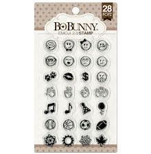 BoBunny Clear Stamps 6X4 - Emoji 2.0 UTGÅENDE