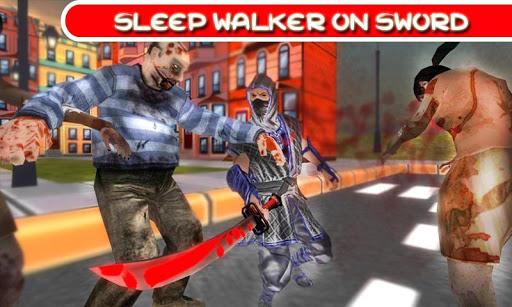 Ninja vs Zombies Assassin 3D