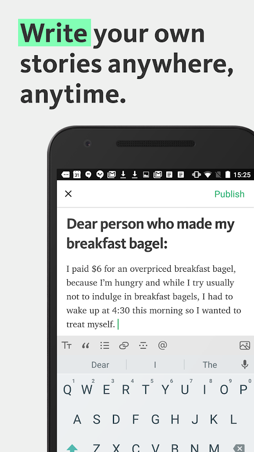 Medium- screenshot