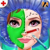 Doctor Face Surgery Game: Clinic Simulation
