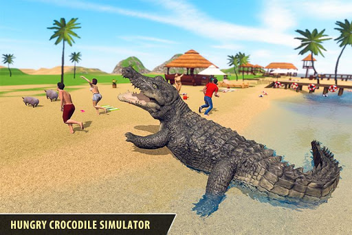 Angry Crocodile Family Simulator: Crocodile Attack filehippodl screenshot 1