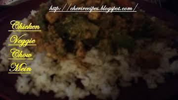 Chicken Veggie Chow Mein