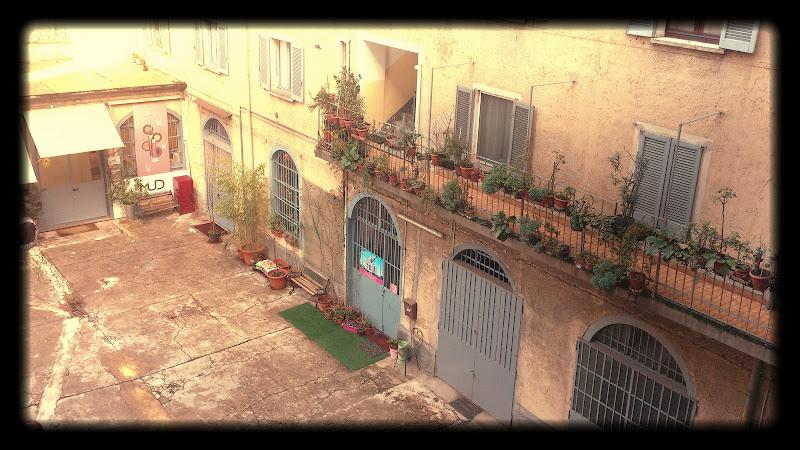 Un vecchio cortile - Porta Genova - Milano di nadiuzza9