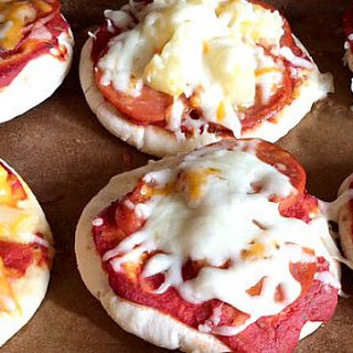 Mini Pita Pizzas