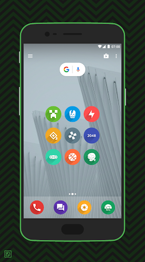 rondo - flat style icon pack screenshot 2