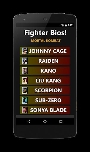 Foto do Fighter Bios: Mortal Kombat