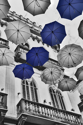 Ombrelli Blu su Iglesias di monica_saba