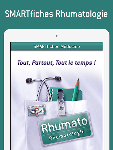 smartfiches rhumatologie app for android. Black Bedroom Furniture Sets. Home Design Ideas