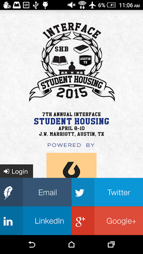 InterFace Student Housing 2015