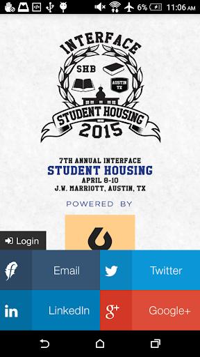 InterFace Student Housing 2015