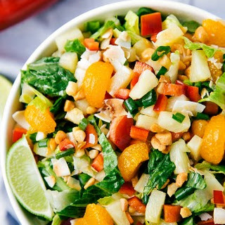 Tropical Pineapple Salad Recipe