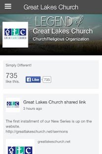 Great Lakes Church Ohio- screenshot thumbnail