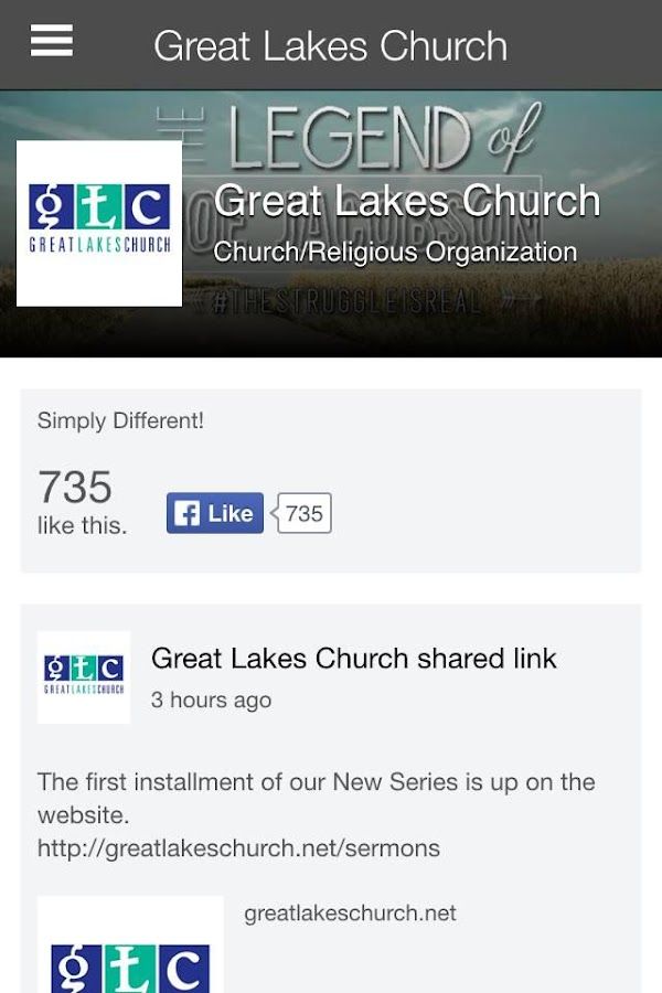 Great Lakes Church Ohio- screenshot