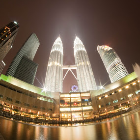 Kuala Lumpur City Centre by Syahidee Omar - Buildings & Architecture Architectural Detail