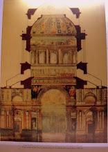 Photo: A bazilika-tervsorozat keresztmetszete, hármas szerkezetű kupolával, 1874.