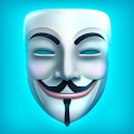 Anonymous Face Mask icon