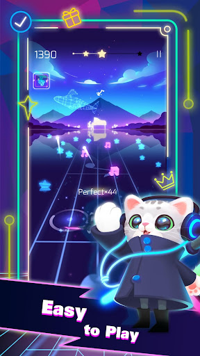 Sonic Cat - Slash the Beats filehippodl screenshot 2
