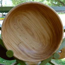 Photo: elm salad bowl  (sold)
