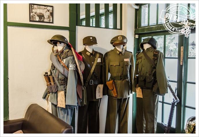 麗貞館軍服