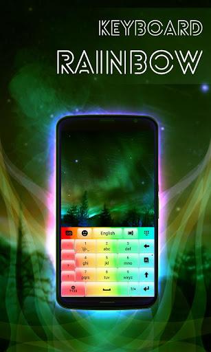 彩虹鍵盤主題 玩個人化App免費 玩APPs