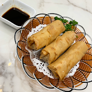 A5. Deep Fried Vegetable Spring Roll (3 pieces)