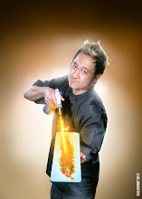 """Photo: From the Mikuni Sushi commercial poster series """"Some call it Magic, we call it Mikuni"""""""