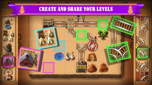 Rail Maze 2 : Train puzzler  screenshots 2
