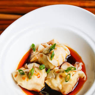 Szechuan Red Chili Oil Wonton Sauce.