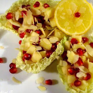 Apple and Pomegranate Fresh Salad.