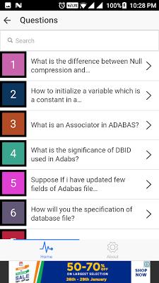 Mainframe IBM Interview QA - screenshot