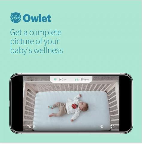 Owlet ad - customer persona