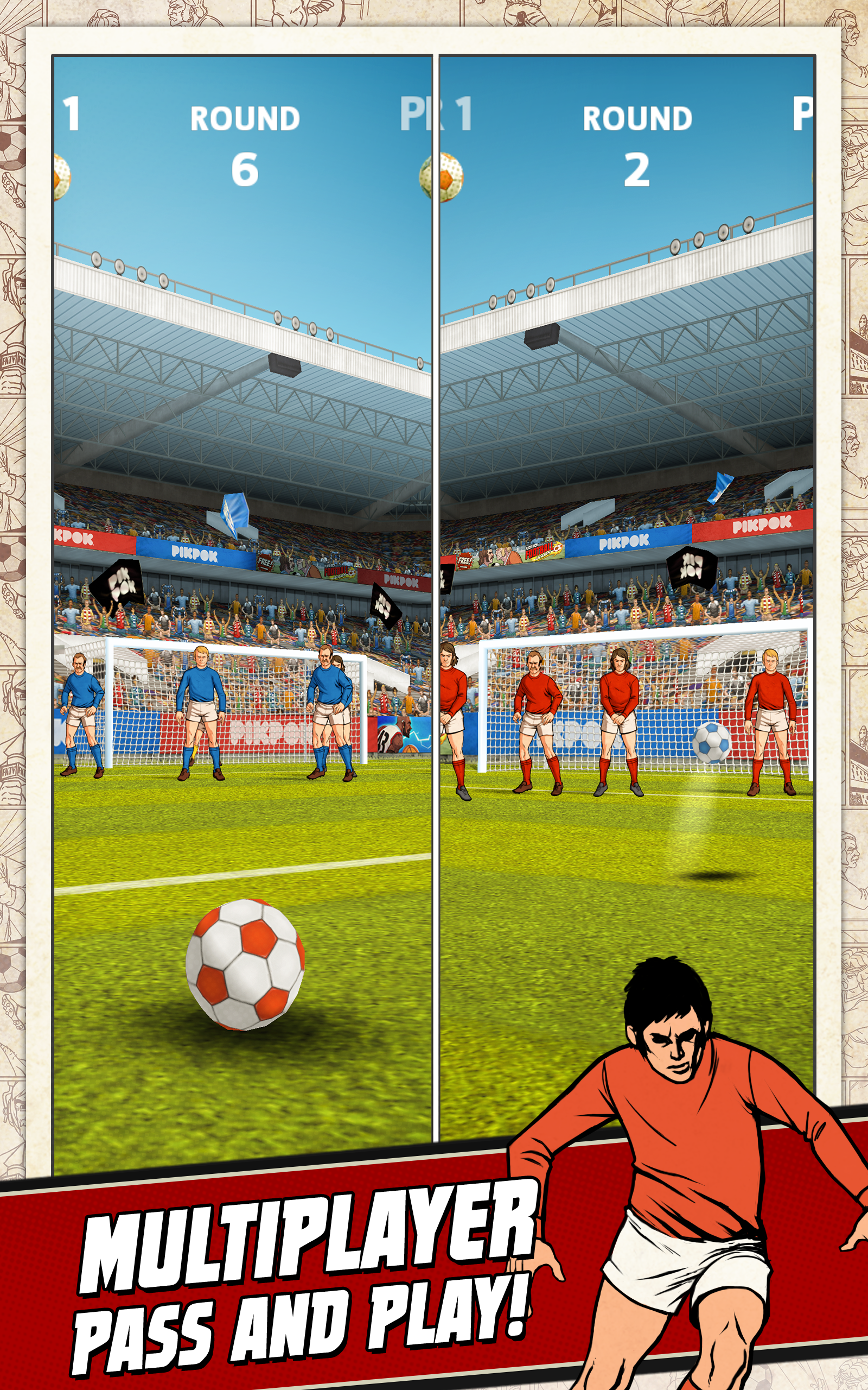 Flick Kick Football screenshot #7
