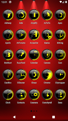 Yellow Icon Pack Style 8 ✨Free✨ ss2