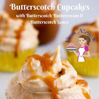 Butterscotch Cupcakes with Butterscotch Buttercream Recipe